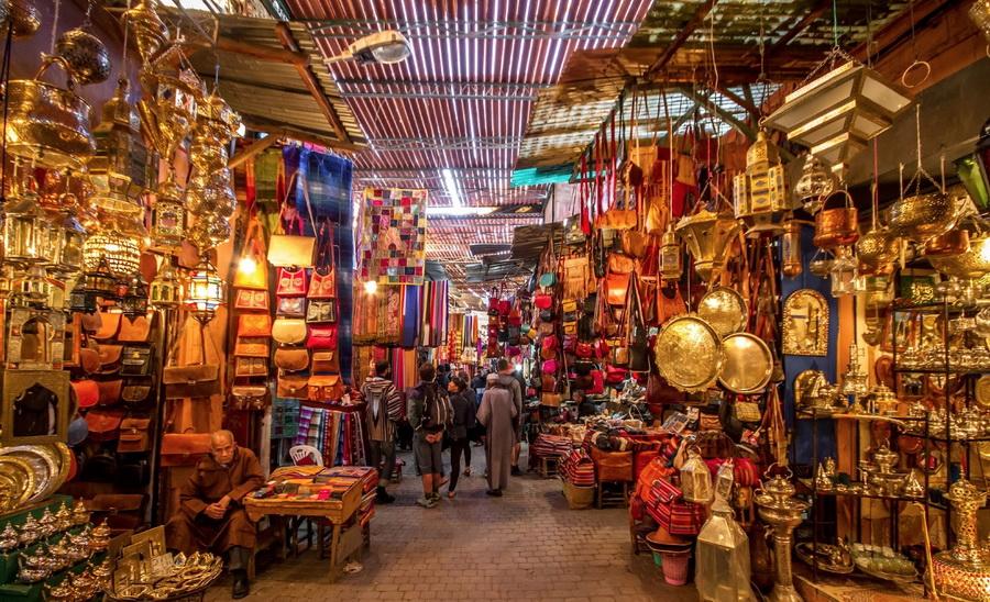 Рынок - Марракеш, Марокко | Топ-10 самых больших ночных рынков в мире | Zestradar
