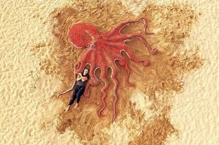 #2 | Реалистичные фигуры из песка от испанского художника | Zestradar