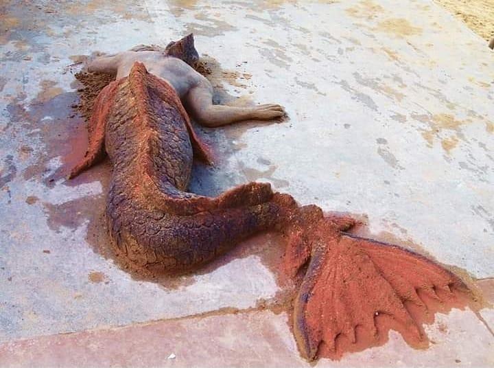 #6 | Реалистичные фигуры из песка от испанского художника | Zestradar