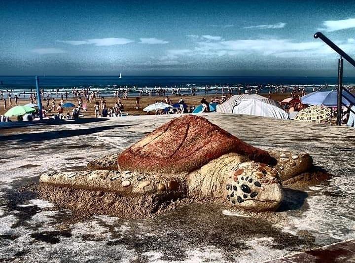 #10 | Реалистичные фигуры из песка от испанского художника | Zestradar