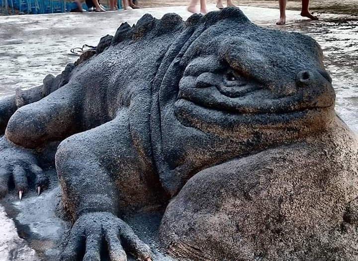 #11 | Реалистичные фигуры из песка от испанского художника | Zestradar