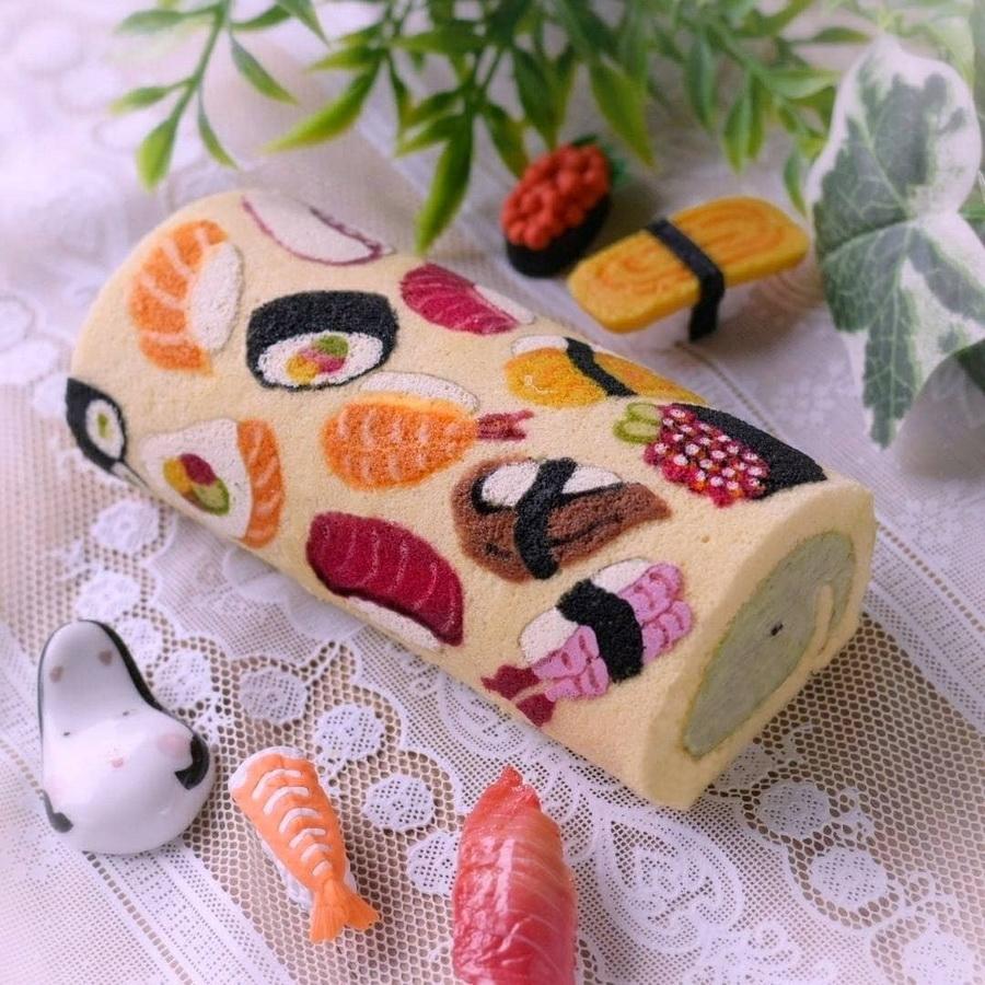 #4 | Рулеты с поразительными картинами от японского кондитера | Zestradar