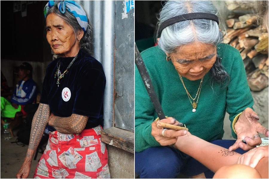 #3 | 103-Year-Old Woman Is The Oldest Traditional Tattooist In The Philippines | Zestradar