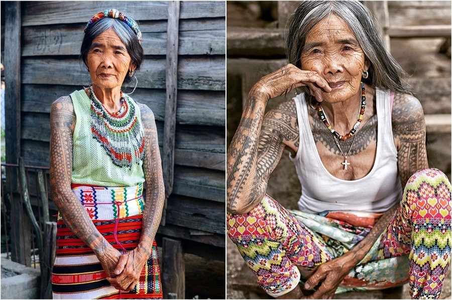103-Year-Old Woman Is The Oldest Traditional Tattooist In The Philippines | Zestradar