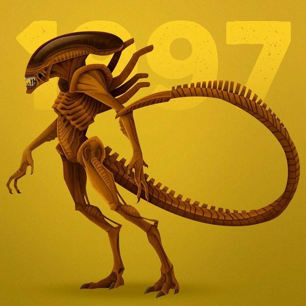 1. The Cloned Xenomorphs from Alien Resurrection | 90s Movie Monsters That Will Make You Feel Nostalgic | Zestradar