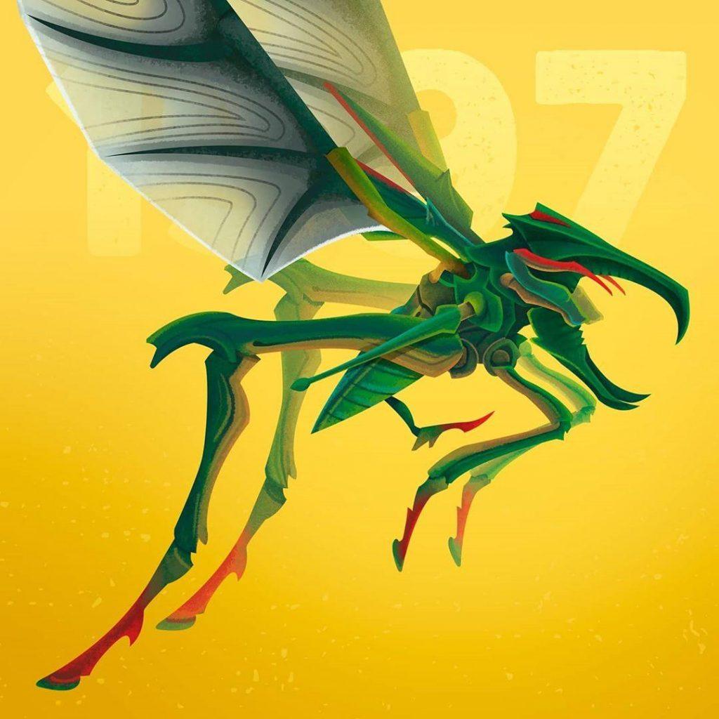 2. The Hopper Bug from Starship Troopers | 90s Movie Monsters That Will Make You Feel Nostalgic | Zestradar
