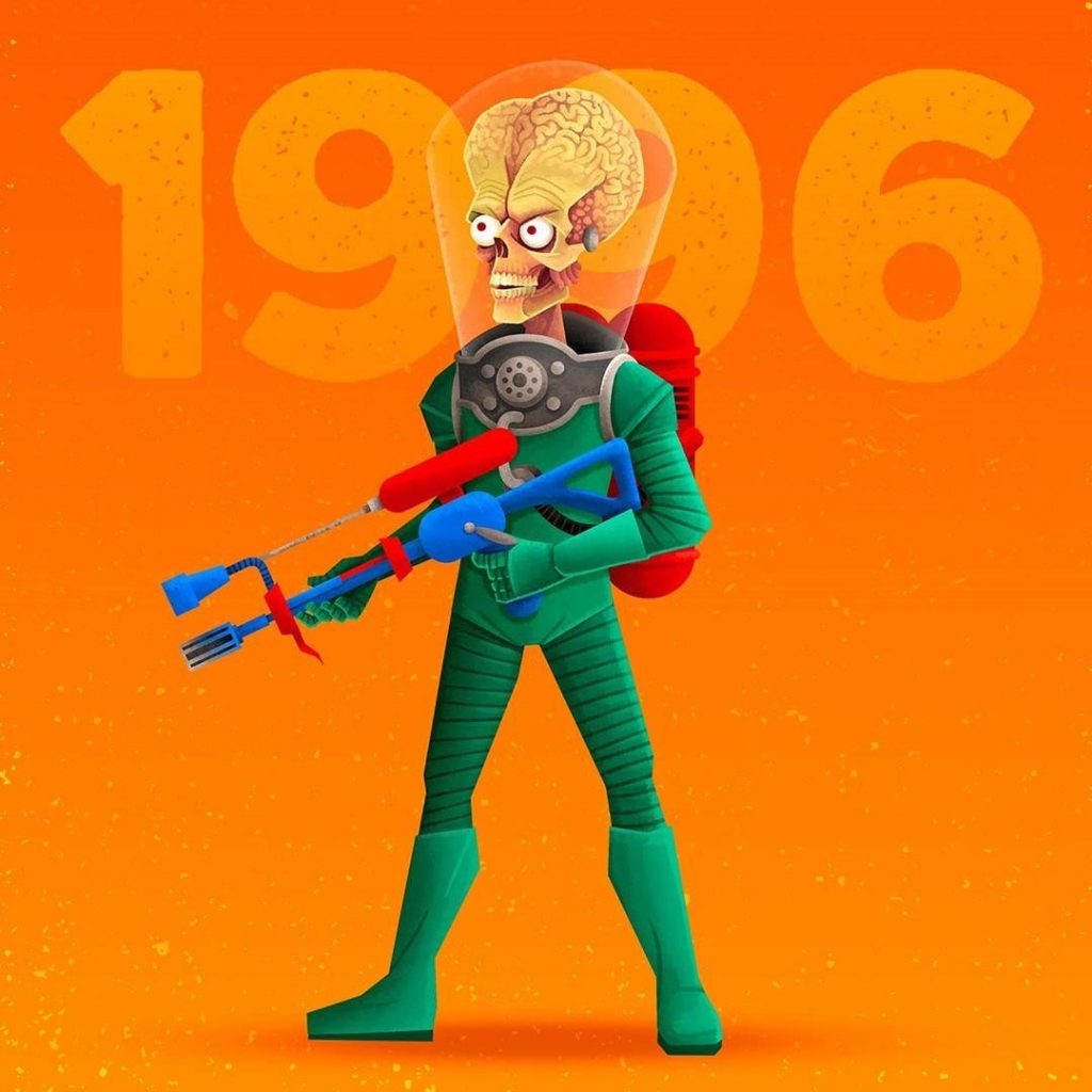 7. The Martians from Mars Attacks | 90s Movie Monsters That Will Make You Feel Nostalgic | Zestradar