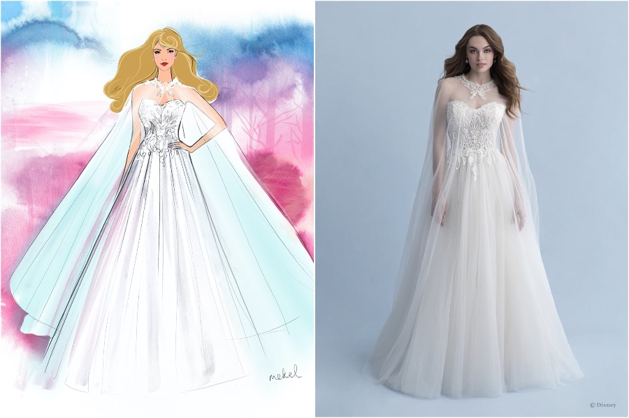 Aurora | The Disney Wedding Gown Collection Is Out | Zestradar