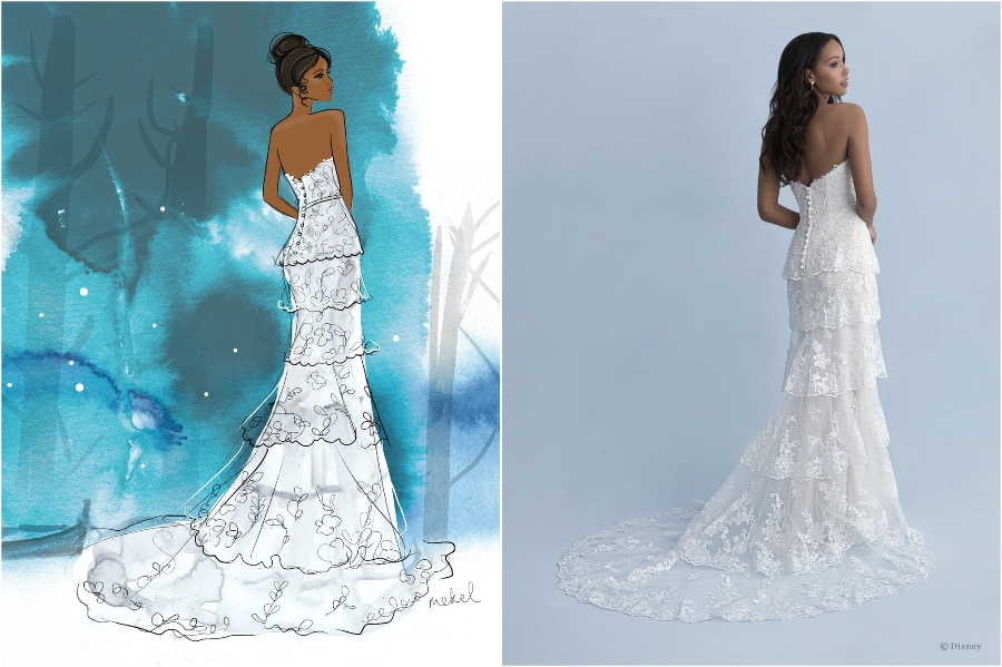Tiana | The Disney Wedding Gown Collection Is Out | Zestradar