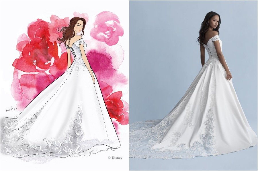 Belle | The Disney Wedding Gown Collection Is Out | Zestradar