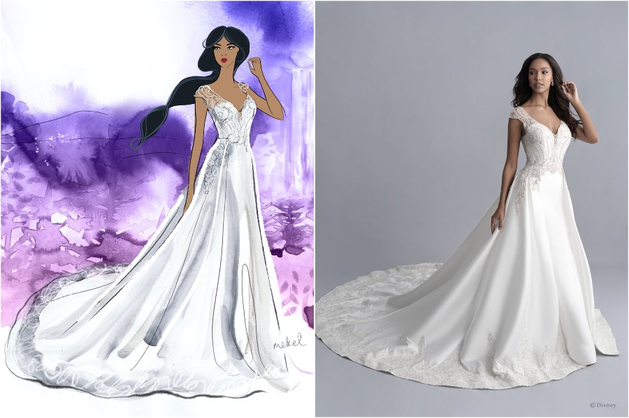 Jasmine | The Disney Wedding Gown Collection Is Out | Zestradar