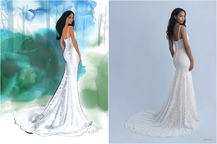Pocahontas | The Disney Wedding Gown Collection Is Out | Zestradar