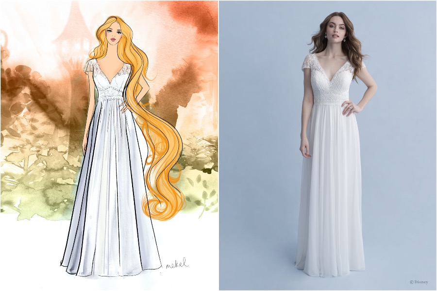 Rapunzel | The Disney Wedding Gown Collection Is Out | Zestradar