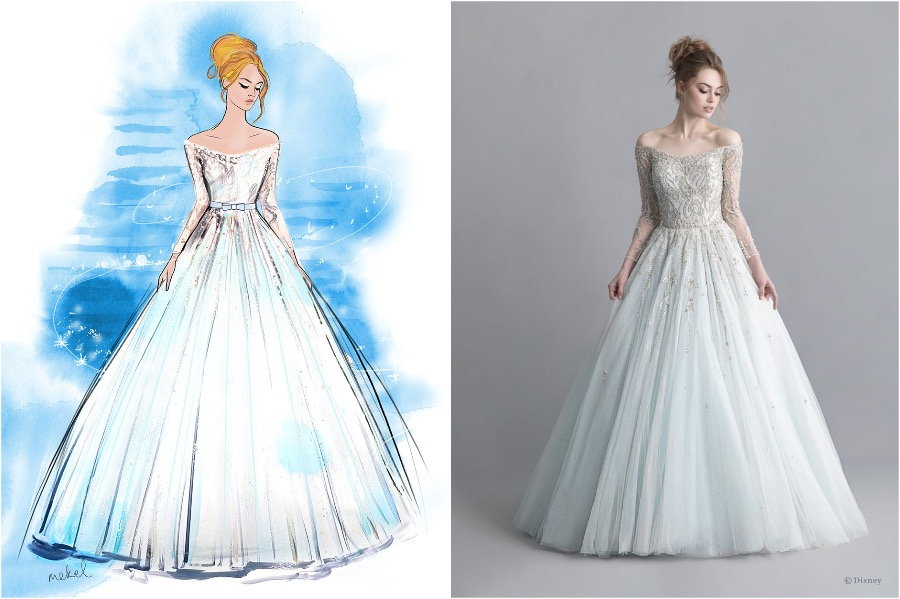 The Disney Wedding Gown Collection Is Out | Zestradar