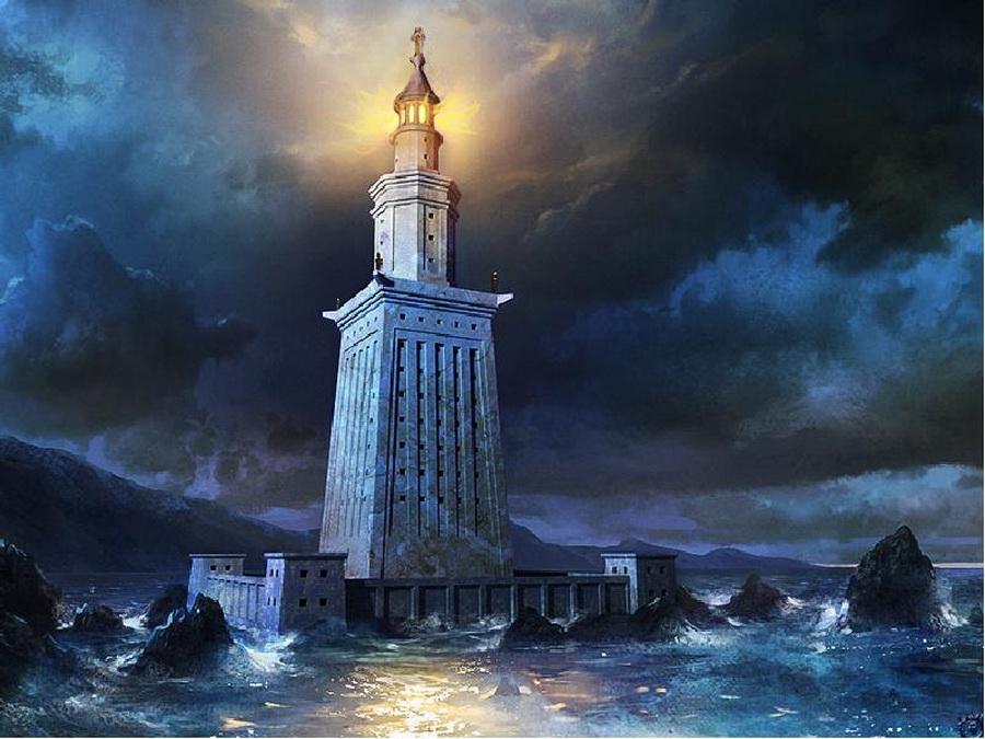 Александрийский маяк | Малоизвестные факты о семи чудесах света | Zestradar