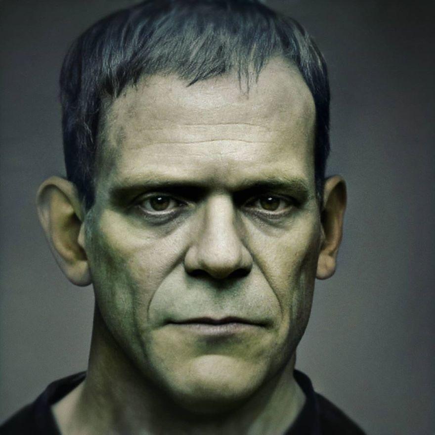 Франкенштейн | Художник создает фотографии исторических личностей с помощью искусственного интеллекта | Zestradar