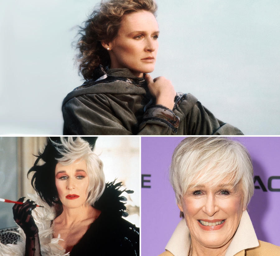 Glenn Close | What Our Favourite Villains Looked Like When They Were Young | Zestradar