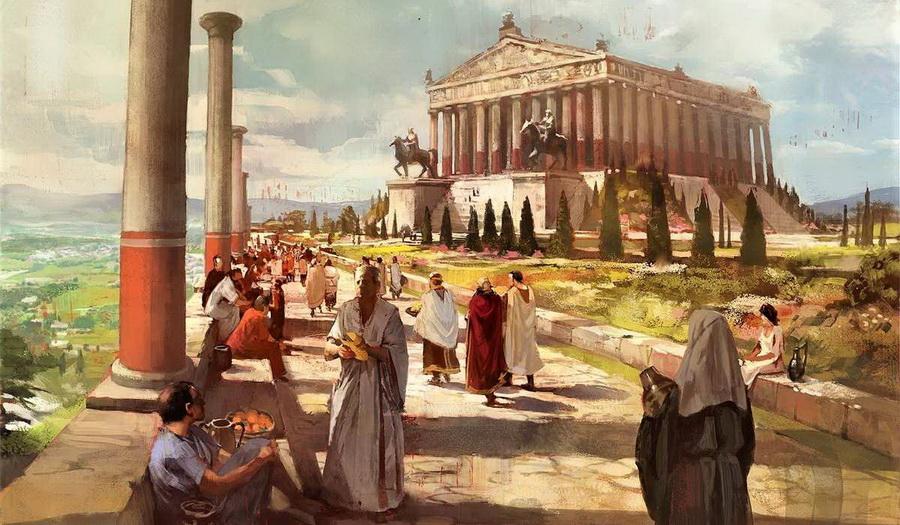 Храм Артемиды Эфесской | Малоизвестные факты о семи чудесах света | Zestradar