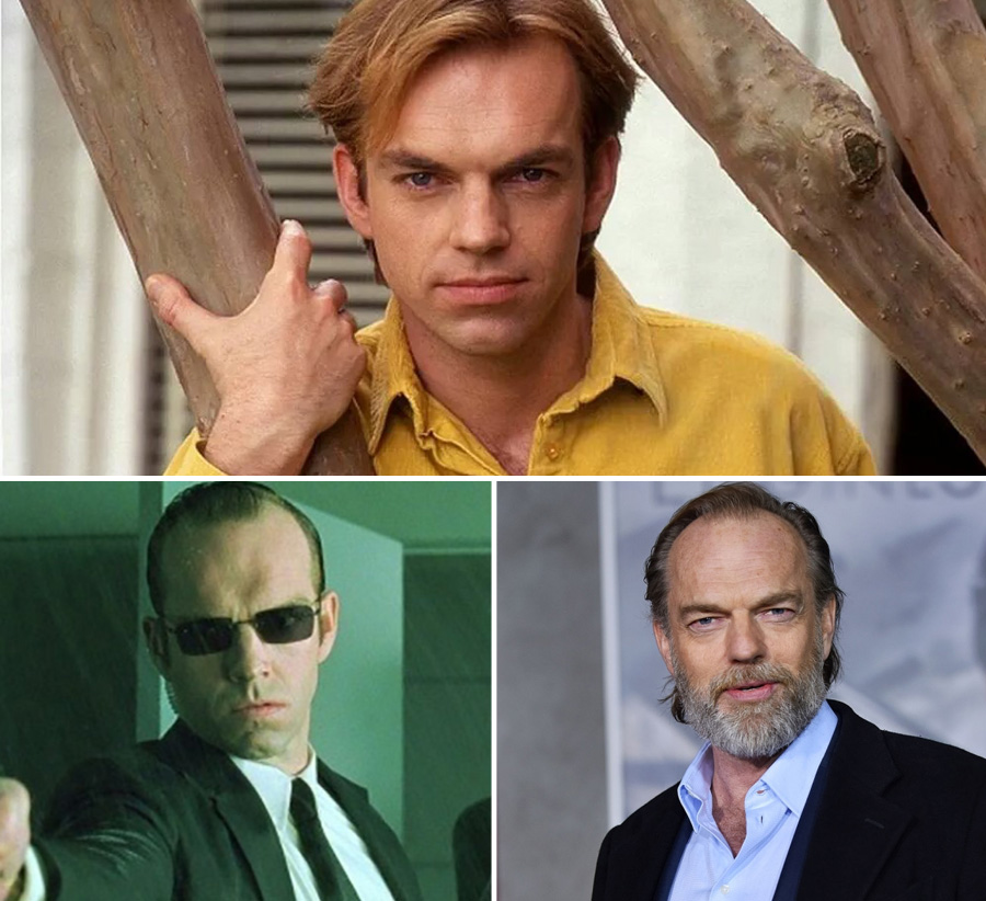 Hugo Weaving | What Our Favourite Villains Looked Like When They Were Young | Zestradar