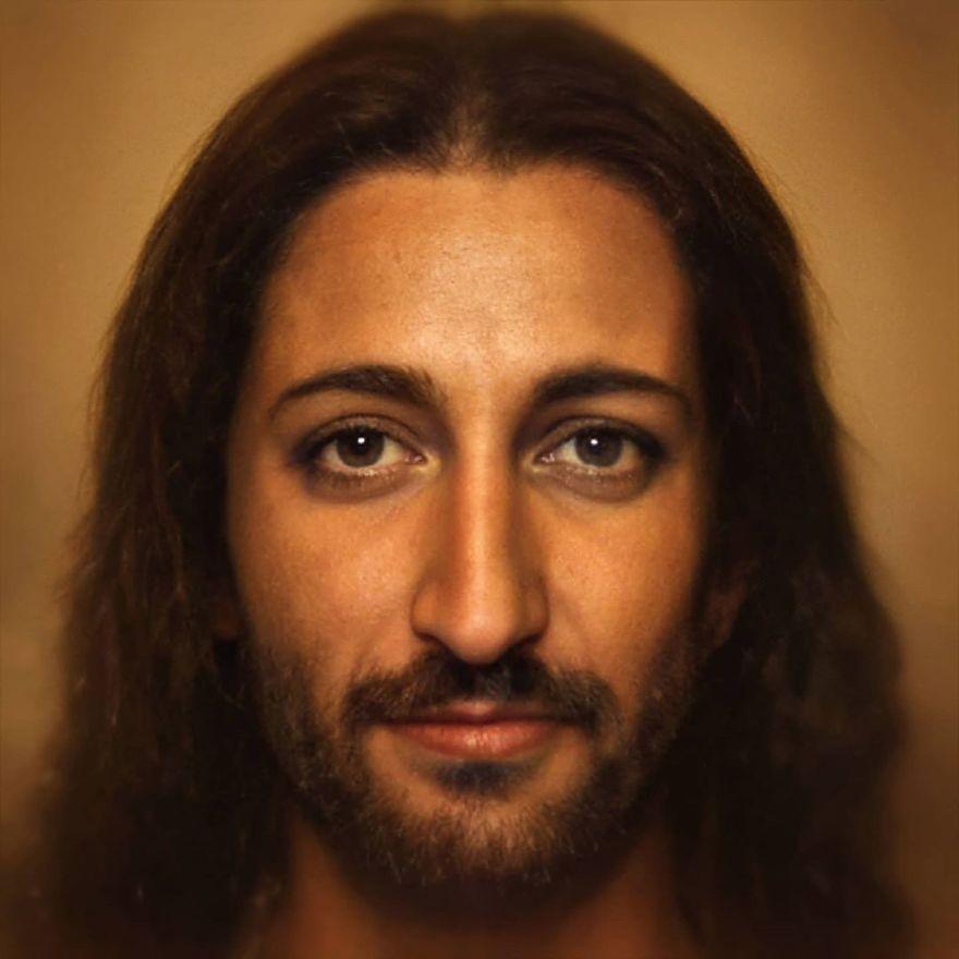 Иисус Христос | Художник создает фотографии исторических личностей с помощью искусственного интеллекта | Zestradar