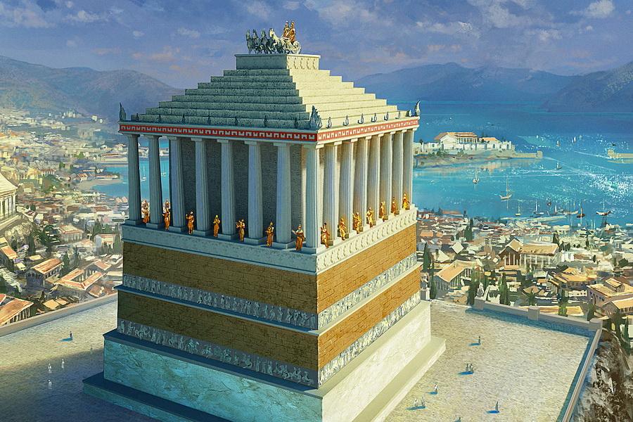 Мавзолей в Галикарнасе | Малоизвестные факты о семи чудесах света | Zestradar