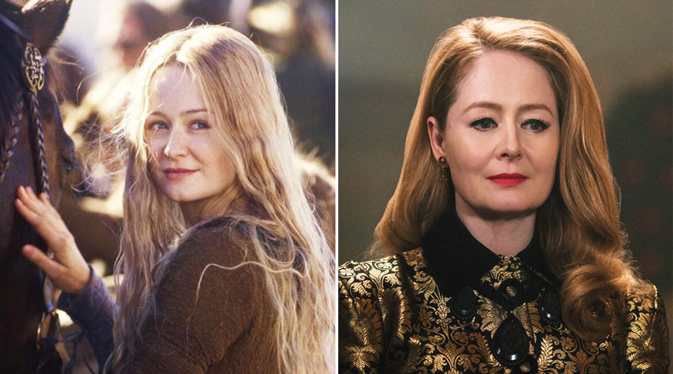 Miranda Otto – Eowyn | Cast of The Lord of the Rings: Now & Then | Zestradar