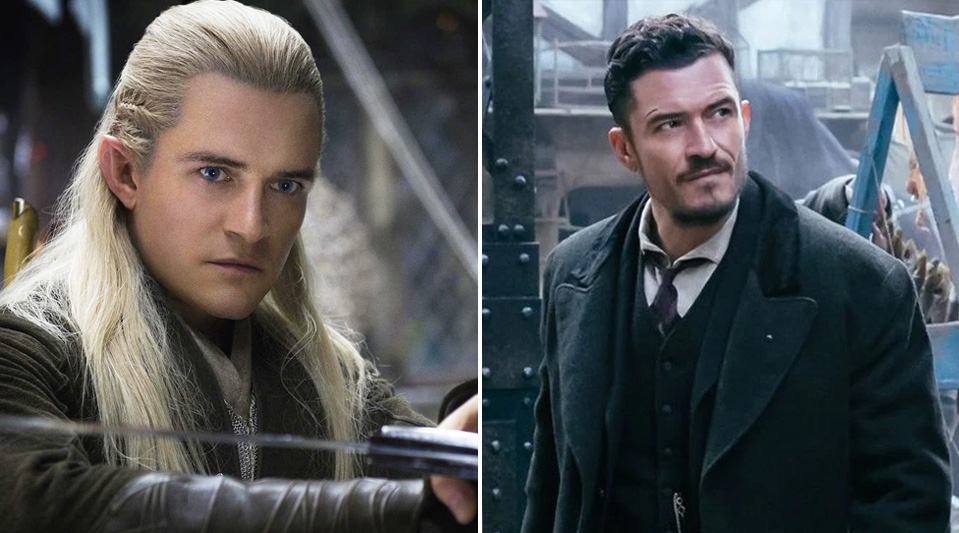 Orlando Bloom - Legolas | Cast of The Lord of the Rings: Now & Then | Zestradar