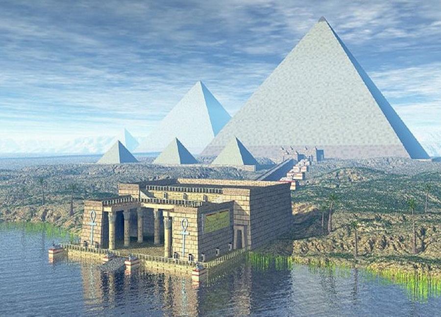 Пирамида Хеопса | Малоизвестные факты о семи чудесах света | Zestradar