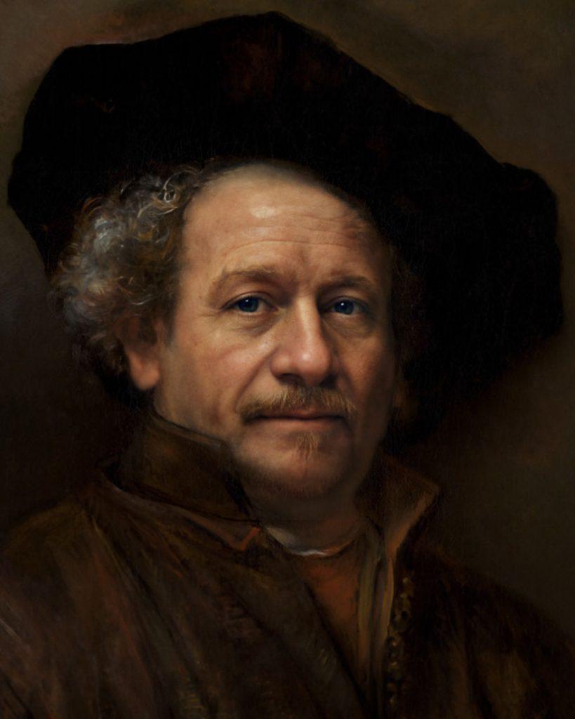 Рембрандт | Художник создает фотографии исторических личностей с помощью искусственного интеллекта | Zestradar