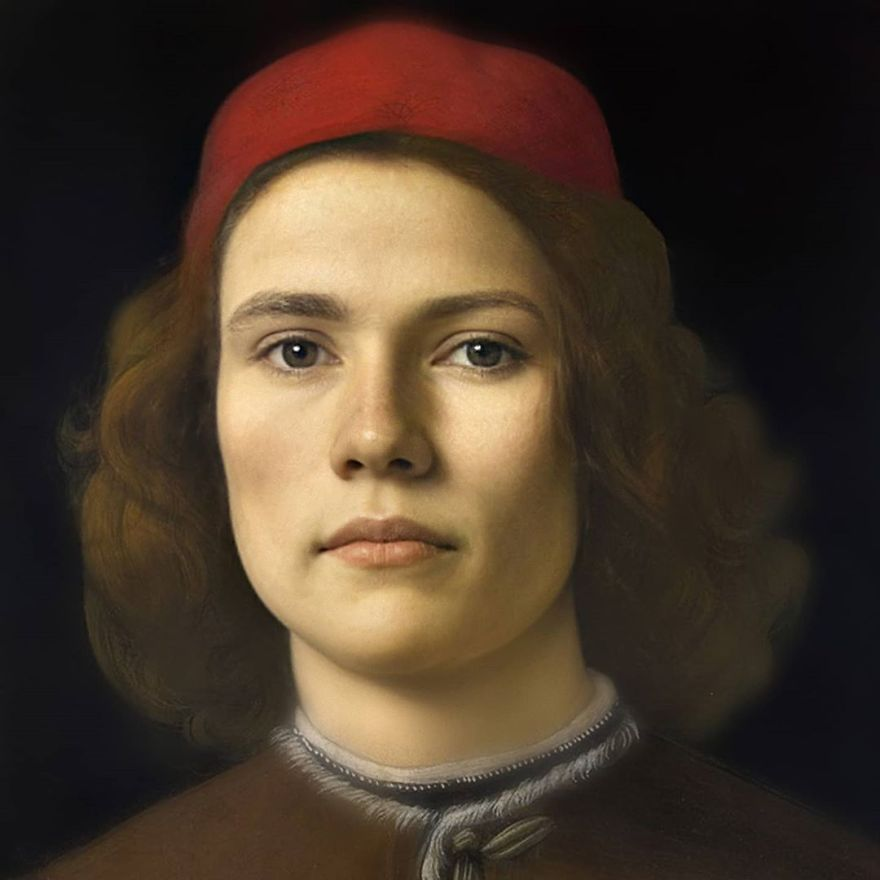 Сандро Боттичелли | Художник создает фотографии исторических личностей с помощью искусственного интеллекта | Zestradar