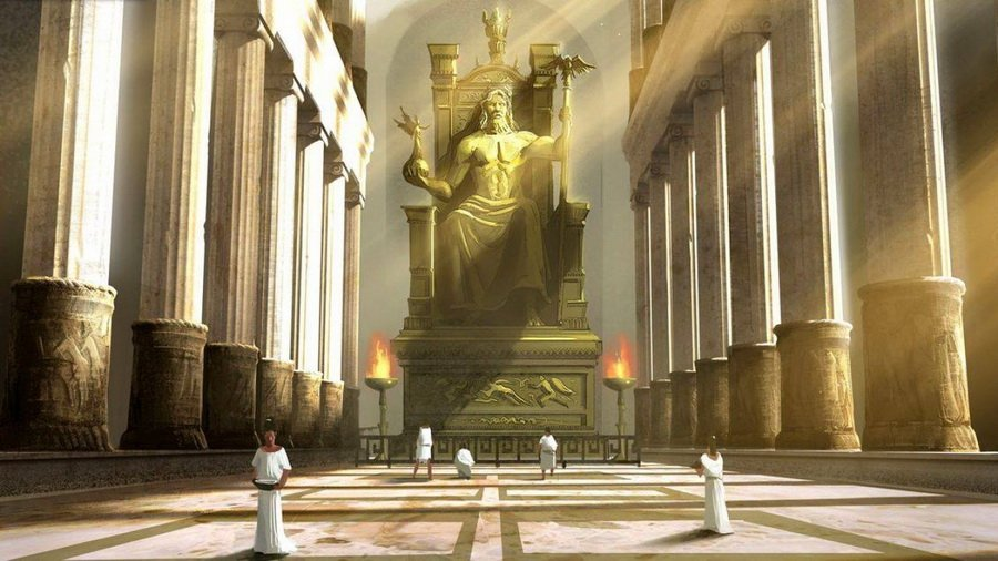 Статуя Зевса | Малоизвестные факты о семи чудесах света | Zestradar