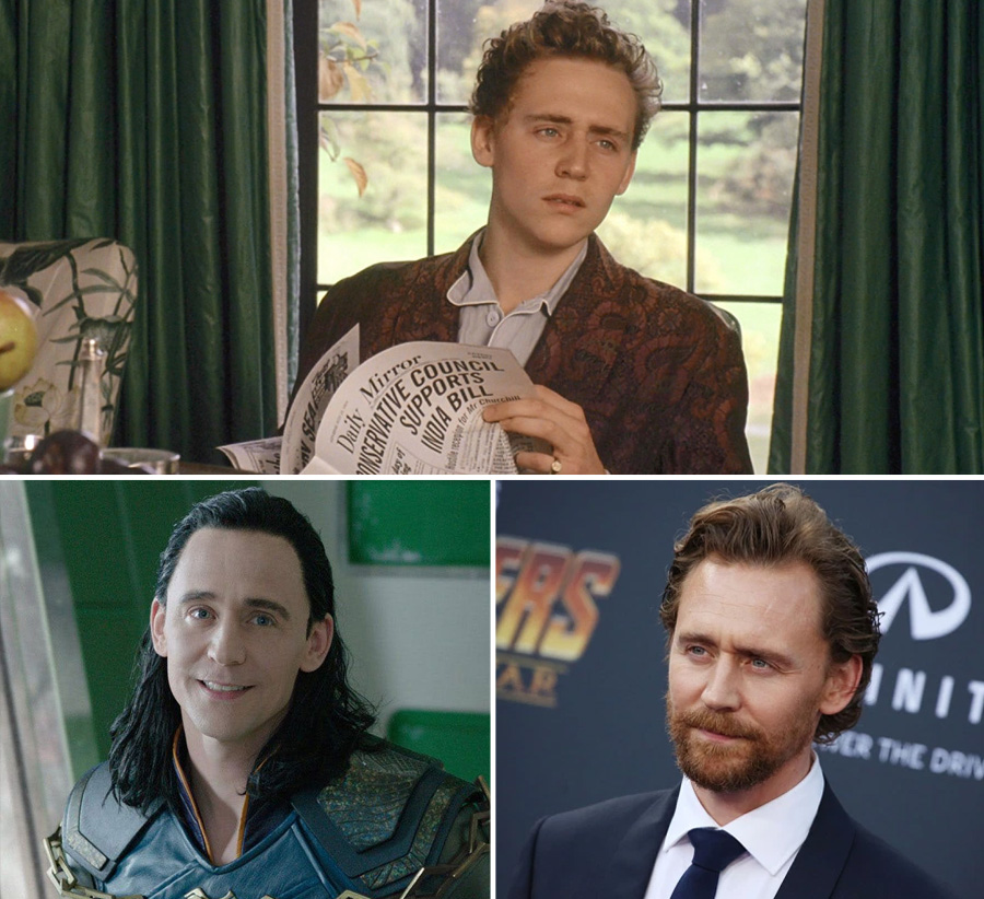 Tom Hiddleston | What Our Favourite Villains Looked Like When They Were Young | Zestradar