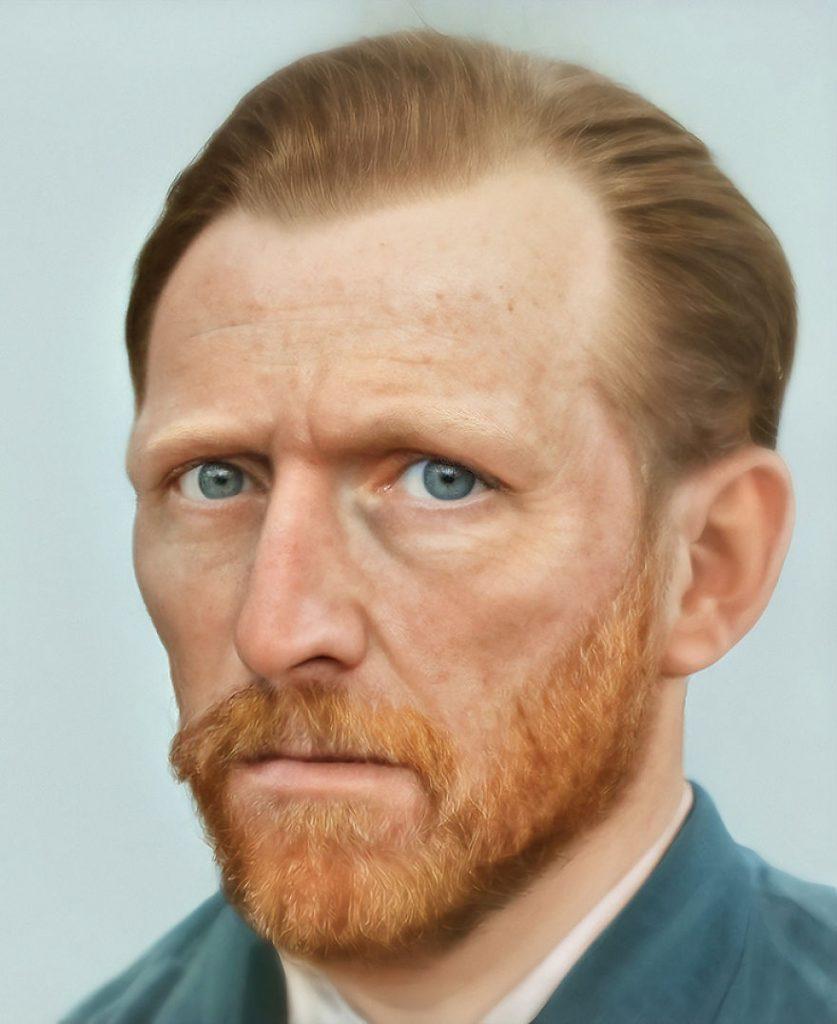 Винсент Ван Гог | Художник создает фотографии исторических личностей с помощью искусственного интеллекта | Zestradar