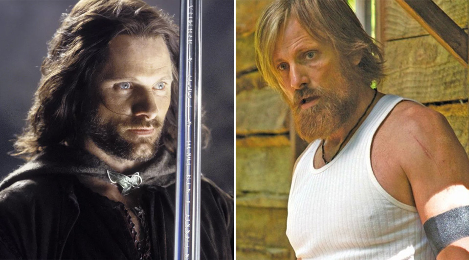 Viggo Mortensen - Aragorn | Cast of The Lord of the Rings: Now & Then | Zestradar