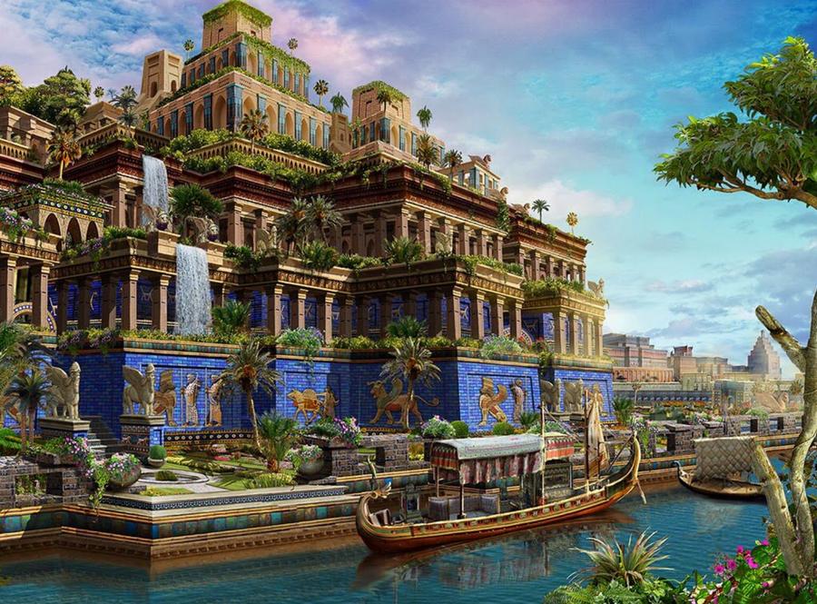 Висячие сады Семирамиды | Малоизвестные факты о семи чудесах света | Zestradar