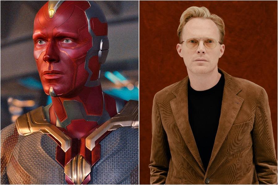 Paul Bettany - Vision | 10 Actors Behind The Fantastic Looking Marvel Characters | Zestradar