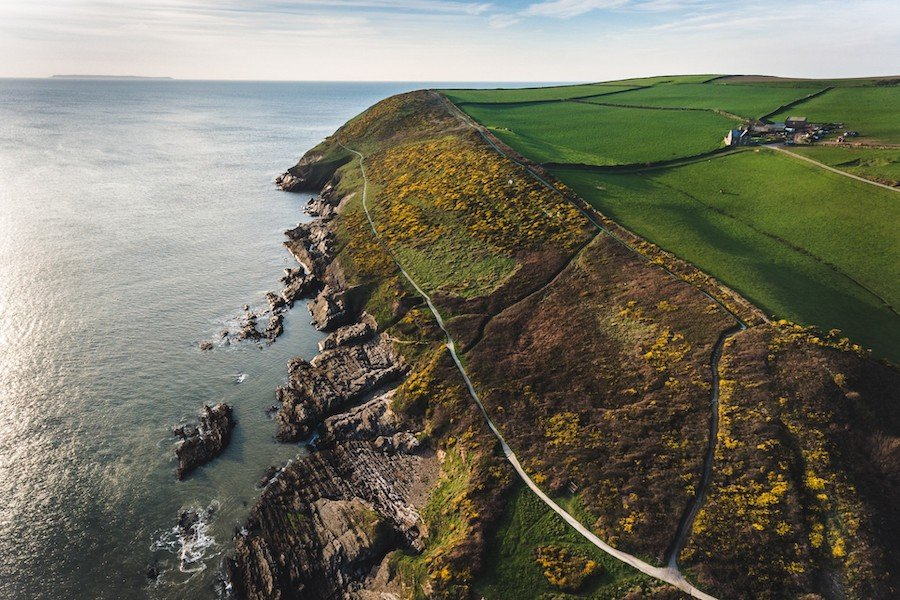1. Devon, England | 8 Of The Best Places To Camp Around The World | Brain Berries