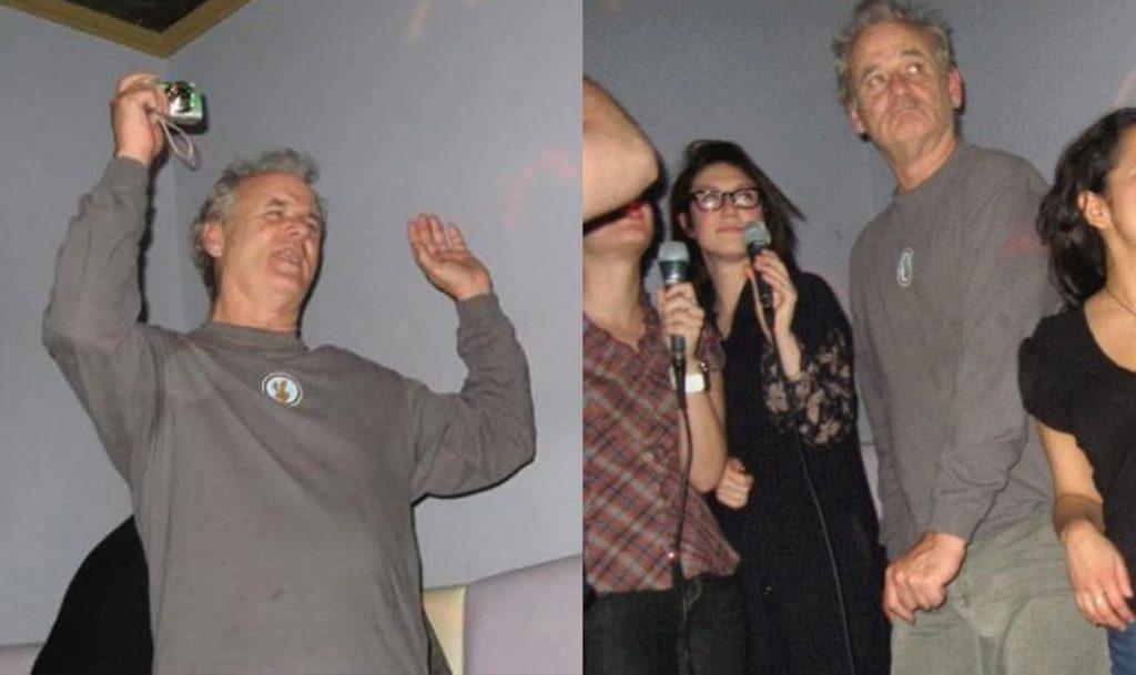 Karaoke | 8 Times Bill Murray Made Total Strangers Happy | Zestradar