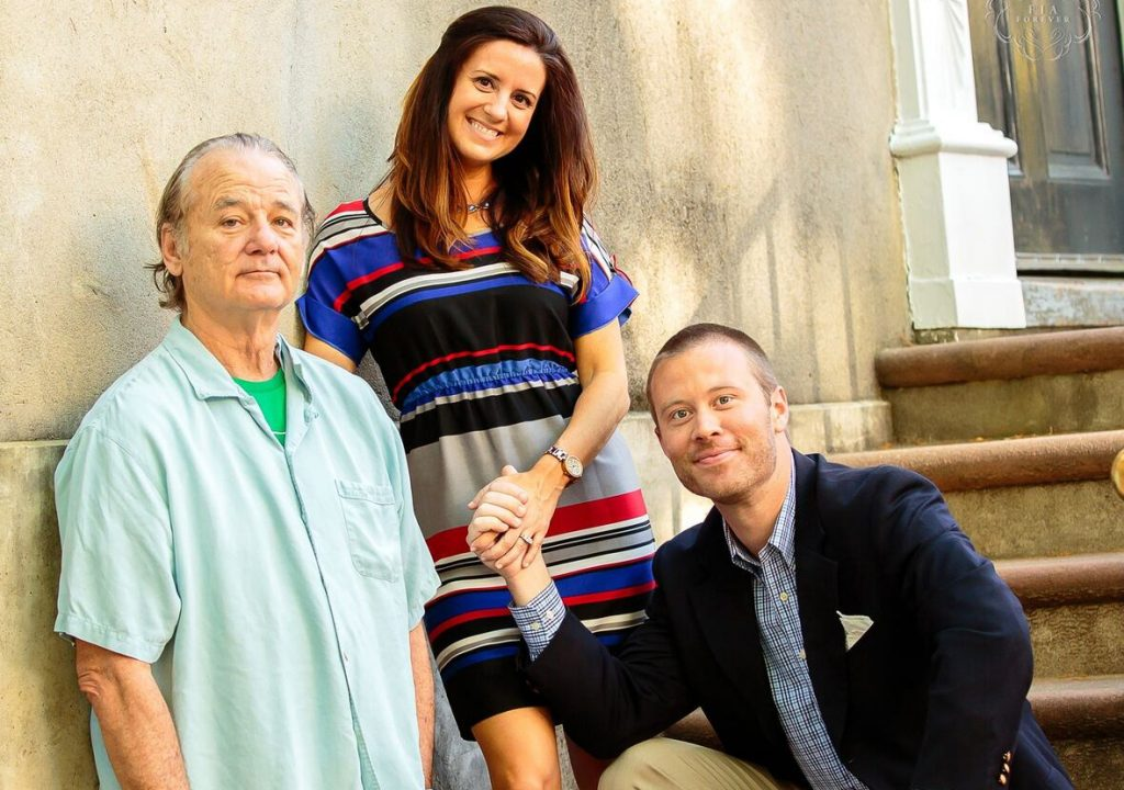 Engagement Photoshoot | 8 Times Bill Murray Made Total Strangers Happy | Zestradar