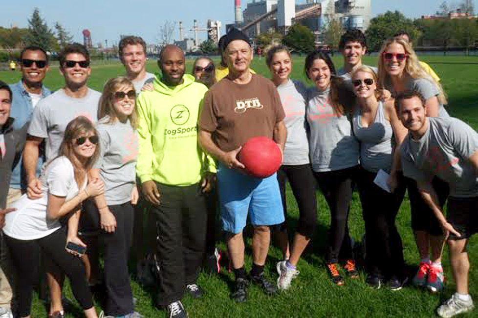 Kickball Game | 8 Times Bill Murray Made Total Strangers Happy | Zestradar