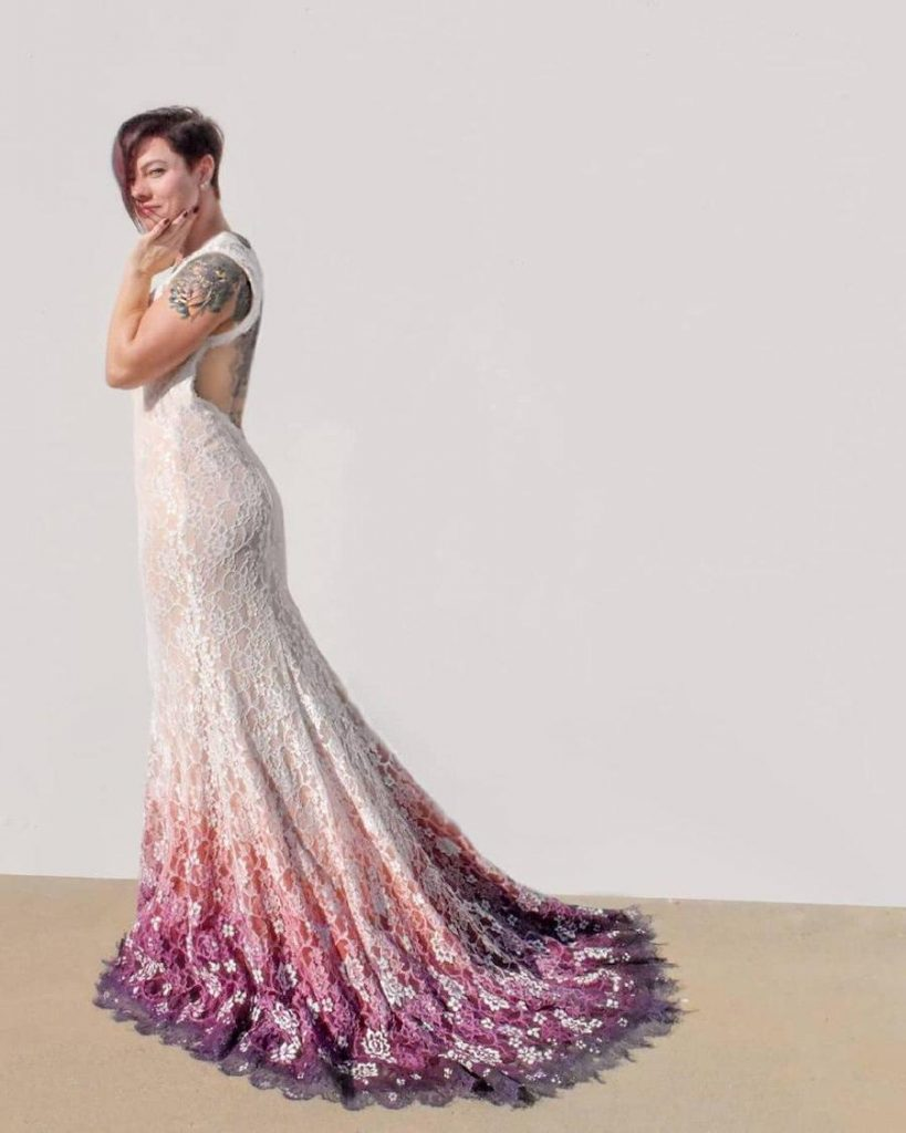 #9 | Artist Starts A Business Creating Unique Colorful Wedding Gowns | Zestradar