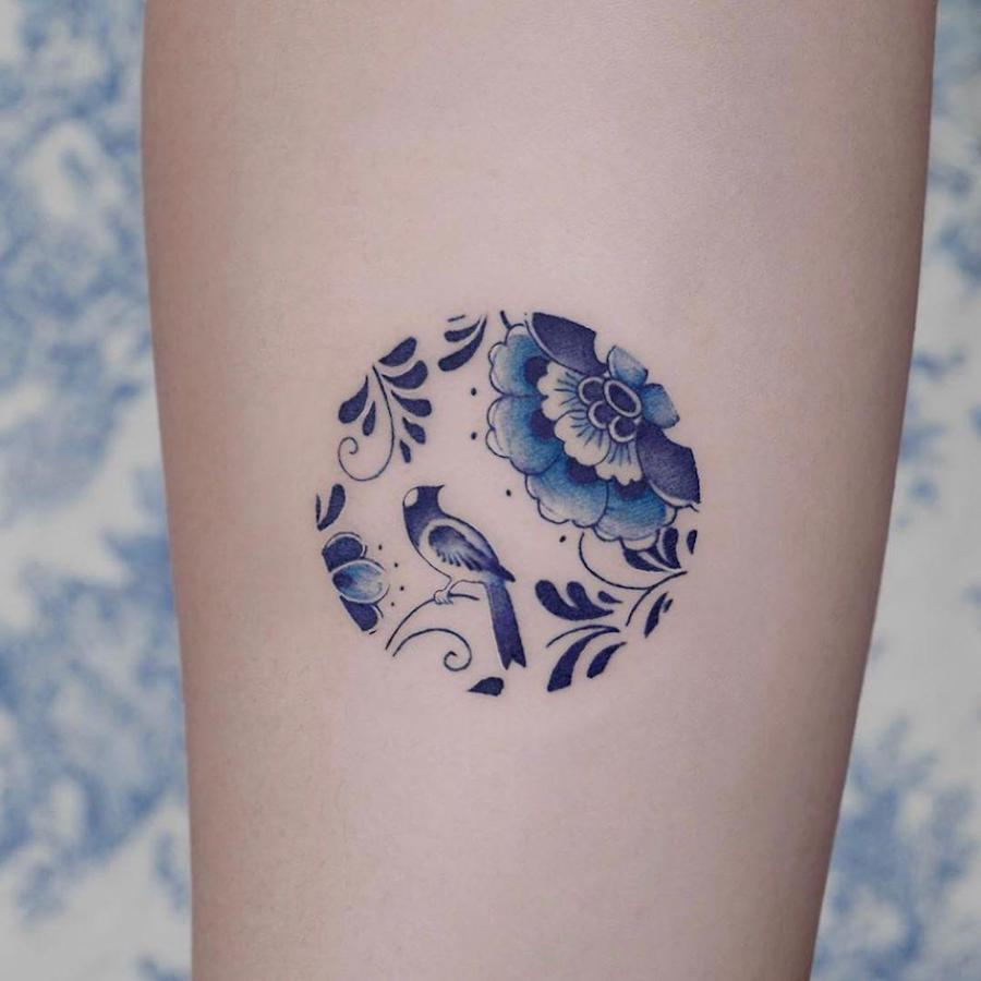 #5 | Chinese Porcelain But Make It A Tattoo | Zestradar
