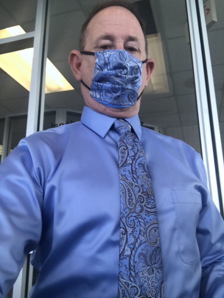| Matching Your Facemask and Tie Is The New Pandemic Trend | Brain Berries