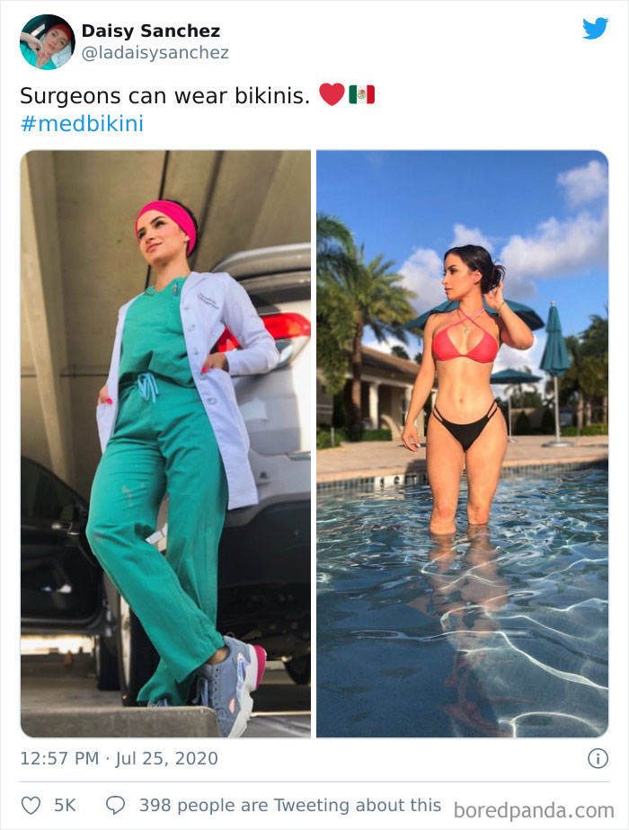 #3 | #MedBikini - A Protest Against Shaming Female Doctors | Zestradar