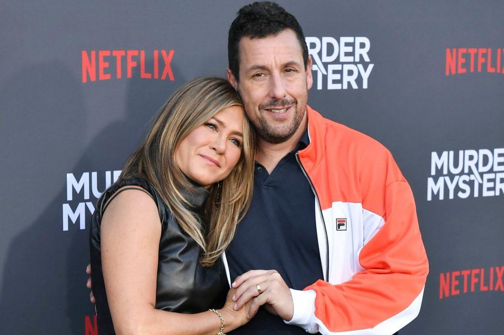 Adam Sandler   8 of Jennifer Aniston's Most Amazing Celebrity Friends   Zestradar