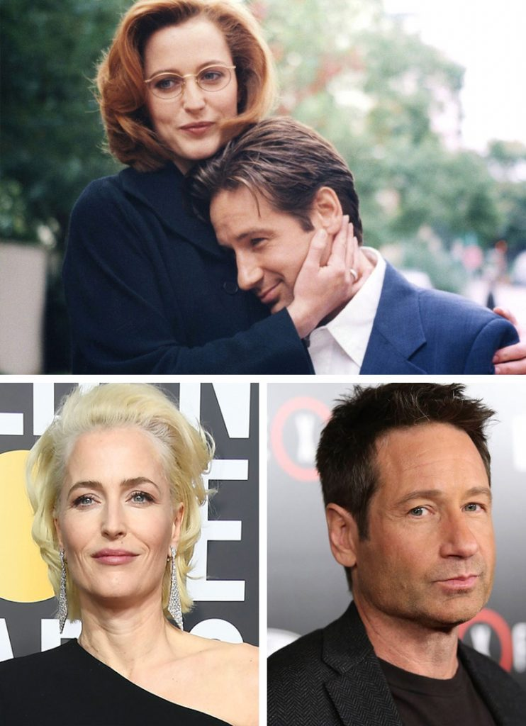 Dana Scully and Fox Mulder (The X-Files) | Here's What Our Favourite 9 TV Couples Look Like Now | Zestradar