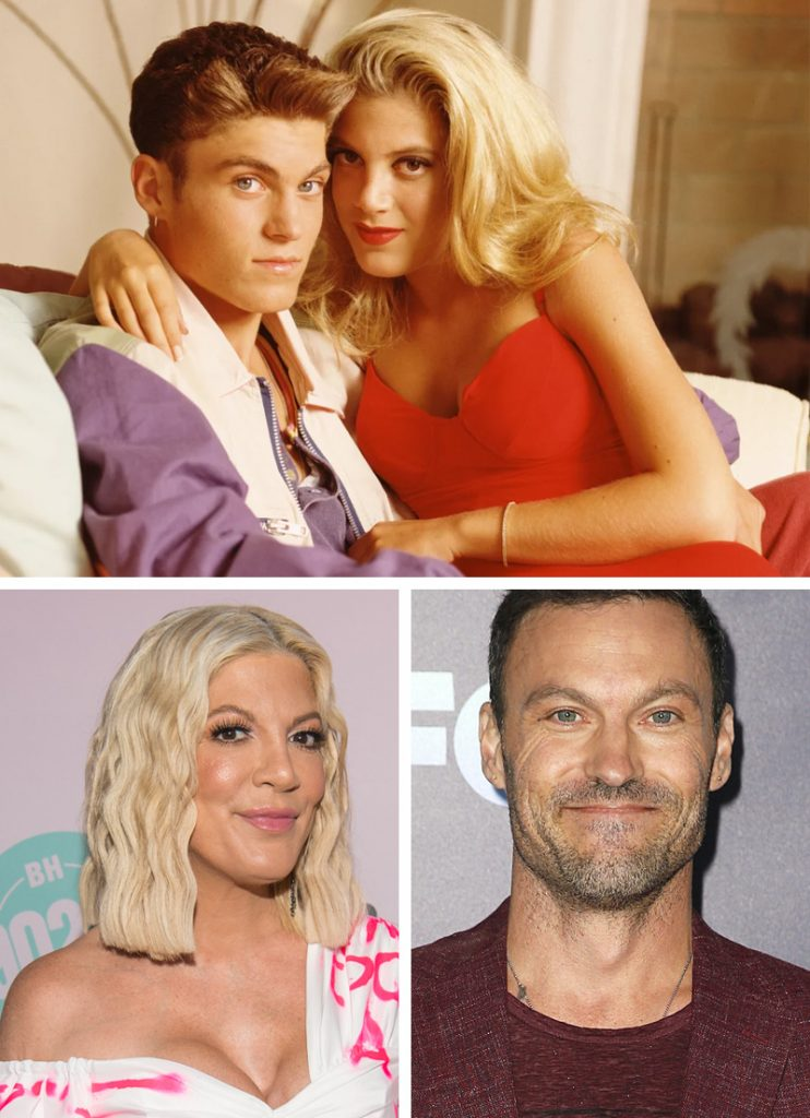 Donna Martin and David Silver (Beverly Hills 90210) | Here's What Our Favourite 9 TV Couples Look Like Now | Zestradar