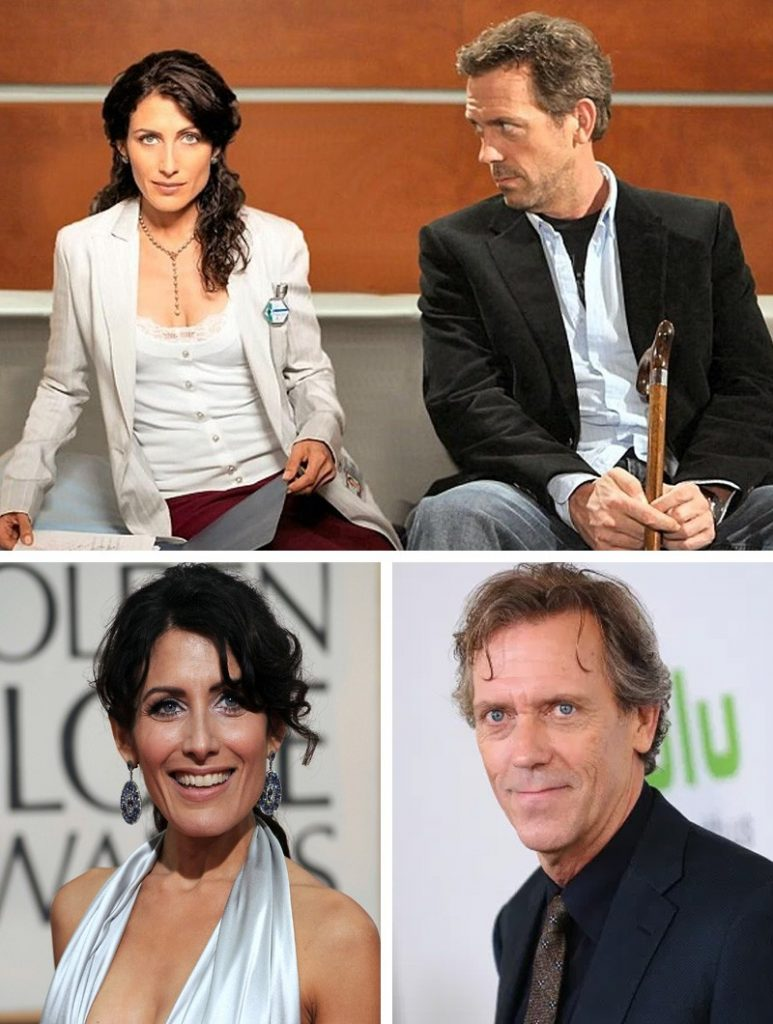 Dr. House and Lisa Cuddy (House, M.D.) | Here's What Our Favourite 9 TV Couples Look Like Now | Zestradar