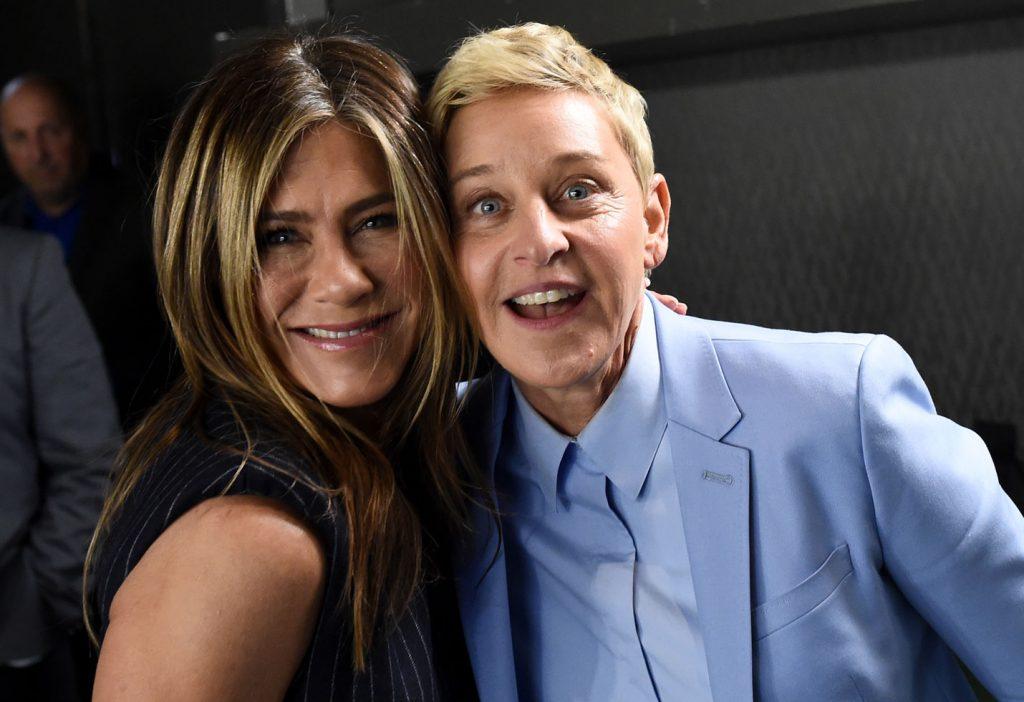 Ellen DeGeneres   8 of Jennifer Aniston's Most Amazing Celebrity Friends   Zestradar
