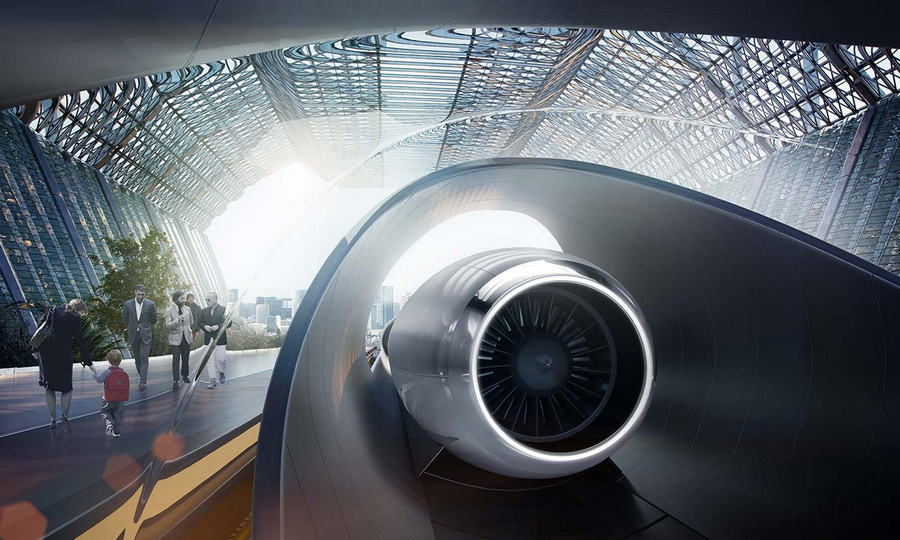 Поезд Hyperloop (Гиперпетля) | 8 причин, почему Илон Маск гений современности | Zestradar